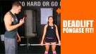 Póngase Fit: Deadlift
